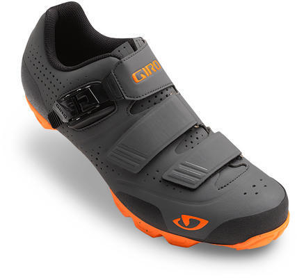 Giro Privateer R Color: Dark Shadow/Flaming Orange