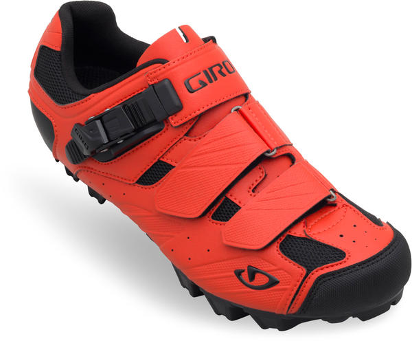 Giro Privateer Shoes Color: Glowing Red/Black