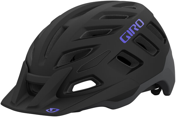 Giro Radix MIPS W Helmet Color: Matte Black/Electric Purple