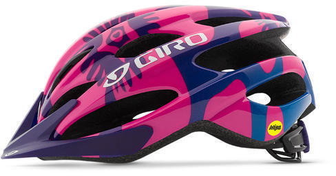 Giro Raze MIPS Color: Berry/Blue Flowers