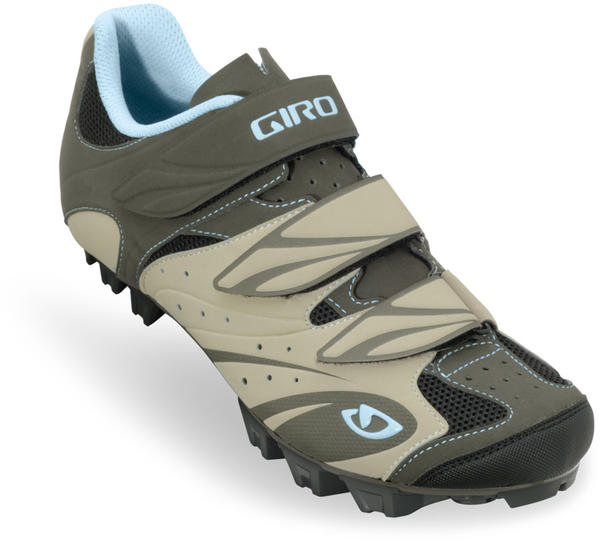Giro Riela Shoes - Women's Color: Khaki/Brown/Sky