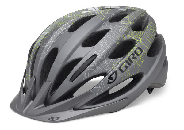 Giro Bishop Color: Matte Titanium/Highlight Yellow