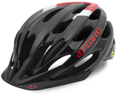 Giro Revel MIPS Color: Black/Bright Red