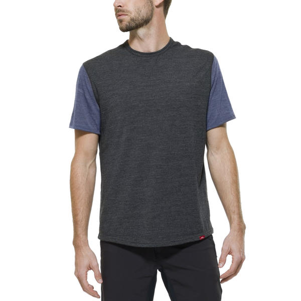 Giro Ride Crew Color: Charcoal/Navy Heather