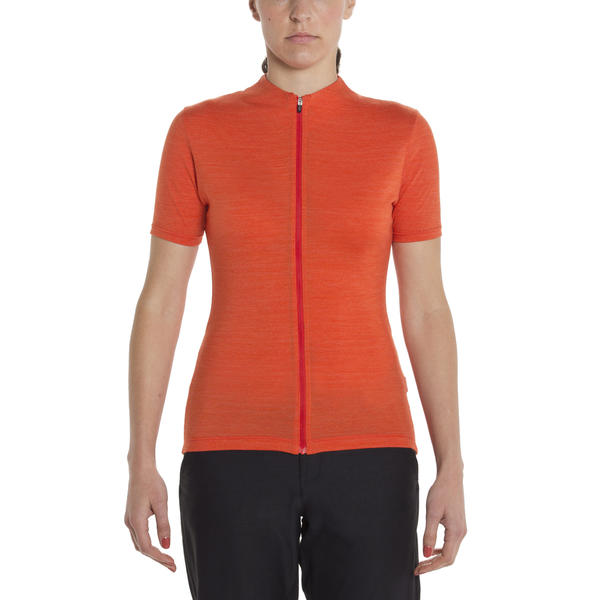 Giro CA Ride Jersey - Women's Color: Glowing Red