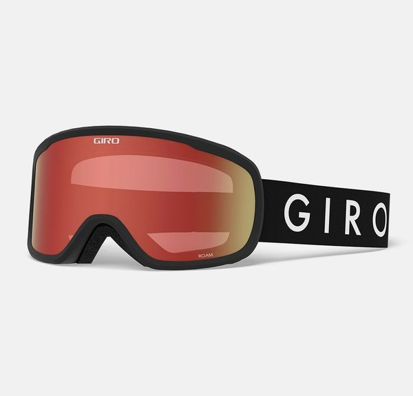 Giro Roam Asian Fit Goggle Color | Lens: Black Core | Amber Scarlet|Yellow