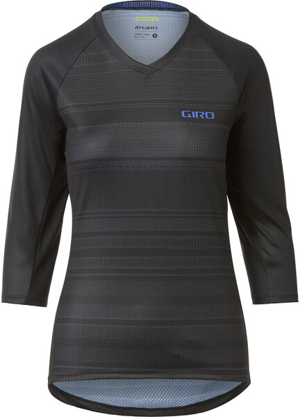 Giro Women's Roust 3/4 Jersey Color: Black Lines