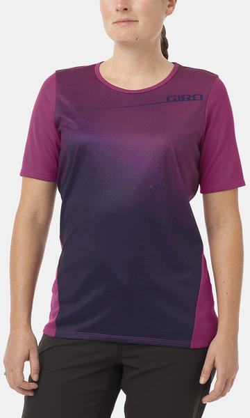 Giro Roust Jersey Color: Berry Fade
