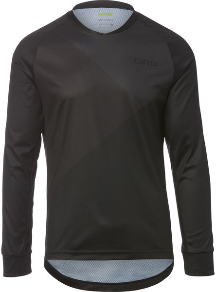 Giro Roust LS Jersey Color: Black Shadow