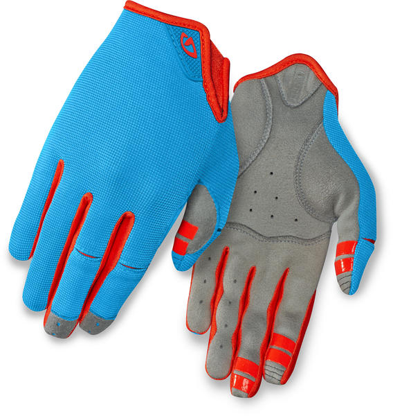 Giro LA DND - Women's Color: Blue Jewel/Glowing Red