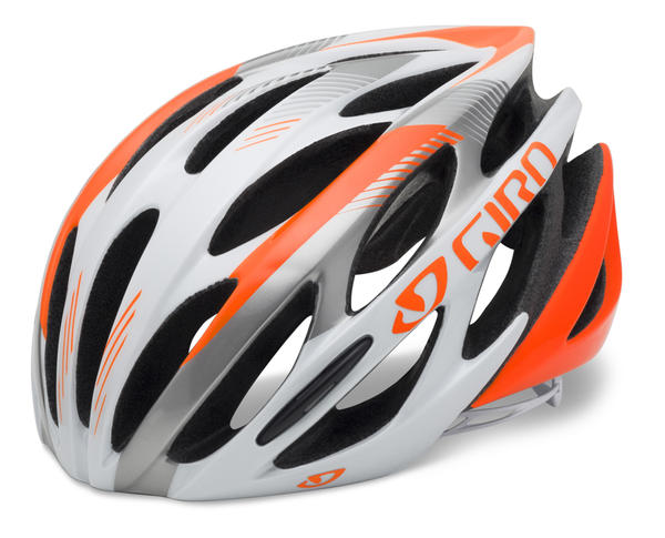 Giro Saros Color: Fluorescent Orange/White