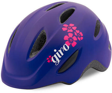Giro Scamp Color: Matte Purple Flowers