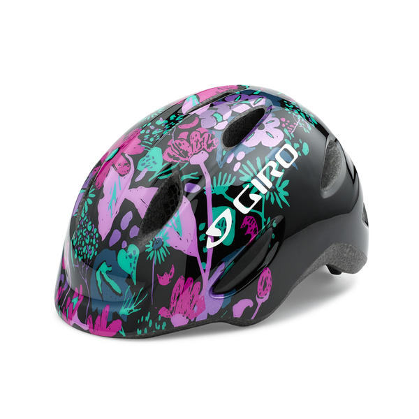 Giro Scamp Color: Black Floral
