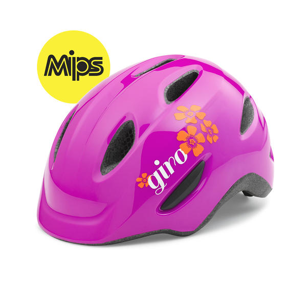 Giro Scamp MIPS Color: Magenta