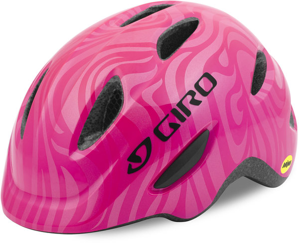 Giro Scamp MIPS Color: Bright Pink/Pearl