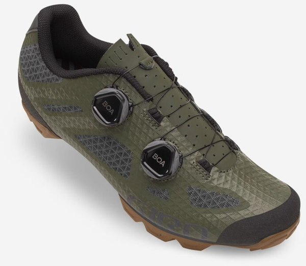 Giro Sector Shoe Color: Olive/Gum
