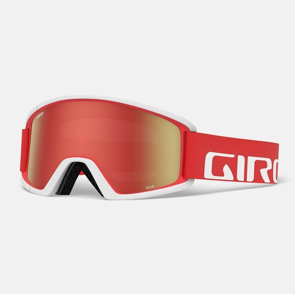 Giro Semi Color | Lens: Apex Red/White | Amber Scarlet|Yellow