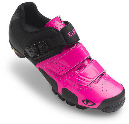 Giro Sica VR70 Shoes Color: Bright Pink/Black