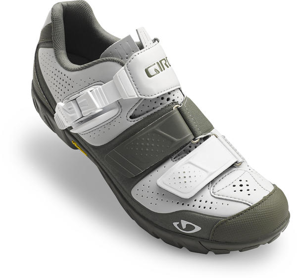 Giro Terradura Shoes - Women's Color: Glacier Gray/Military Spec Olive