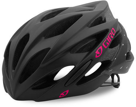 Giro Sonnet Color: Matte Black/Bright Pink
