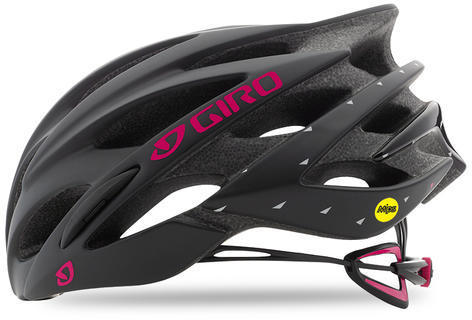 Giro Sonnet MIPS Color: Matte Black/Bright Pink
