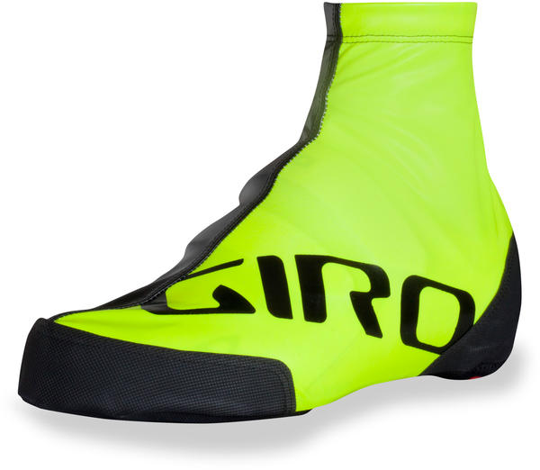 Giro Stopwatch Aero Shoe Covers Color: Highlight Yellow