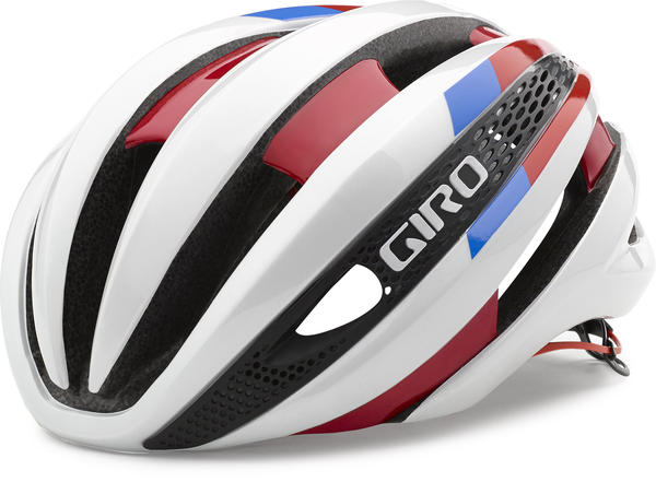 Giro Synthe Color: White/Red/Blue