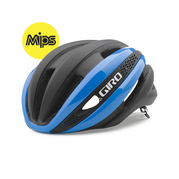 Giro Synthe MIPS Color: Blue/Matte Black