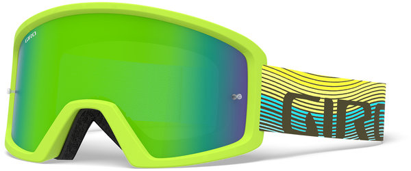 Giro Tazz MTB Goggle Color | Lens: Iceberg/Citron Heatwave | Loden Green|Clear