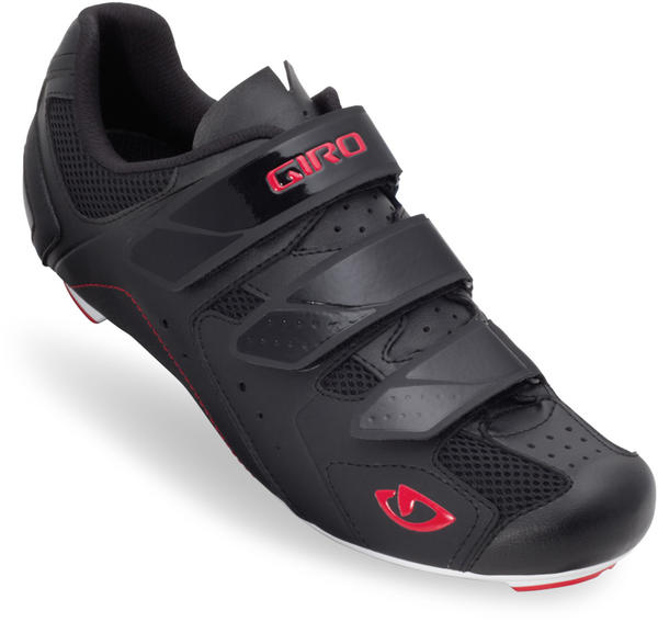 Giro Treble Shoes Color: Black/White/Red