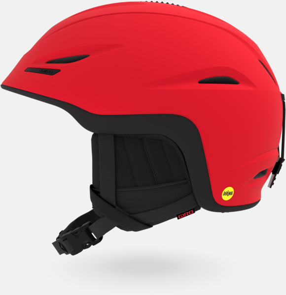 Giro Union MIPS Helmet Color: Matte Bright Red