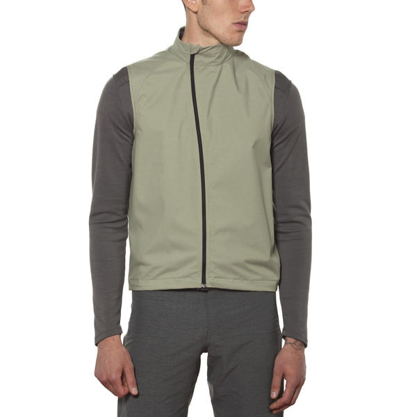 Giro Wind Vest Color: Green Clay