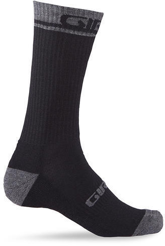 Giro Winter Merino Wool Sock Color: Black/Dark Shadow