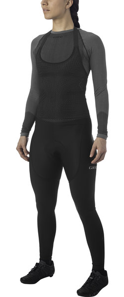 Giro Womens Chrono Expert Thermal Halter Bib Color: Black