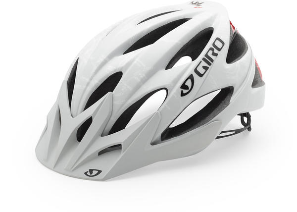 Giro Xar Color: Matte White/CA Bear