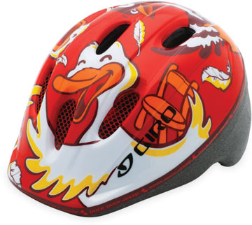 Giro Me2 Color: Red Duck, Duck, Goose