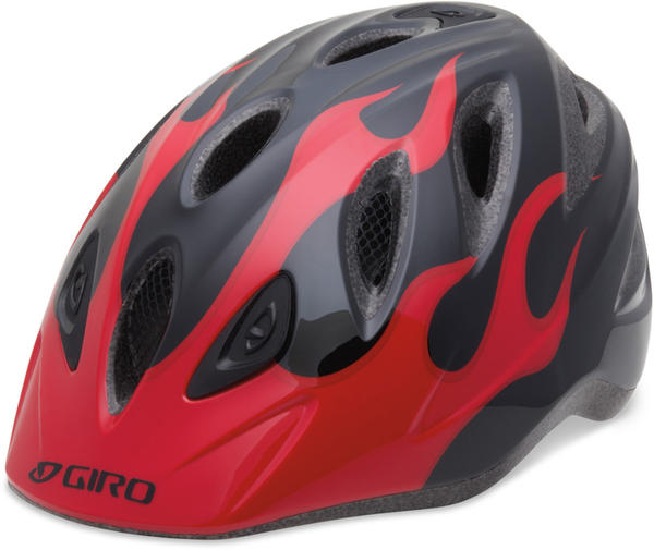 Giro Rascal Color: Red/Black Flames