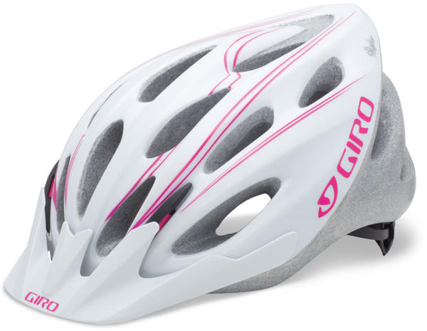 Giro Skyla Color: White Magenta Simple Lines