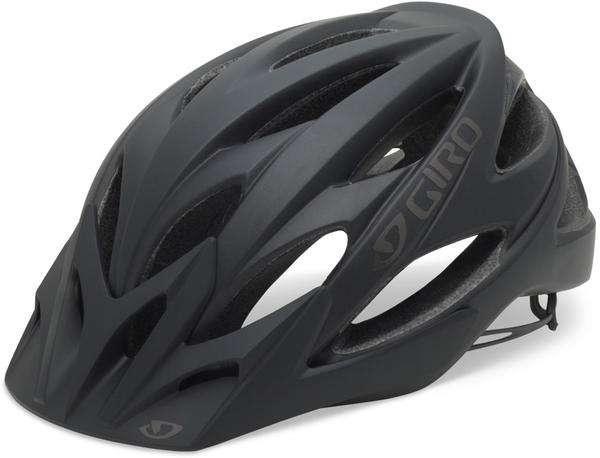Giro Xar Color: Matte Black/Gray Bars