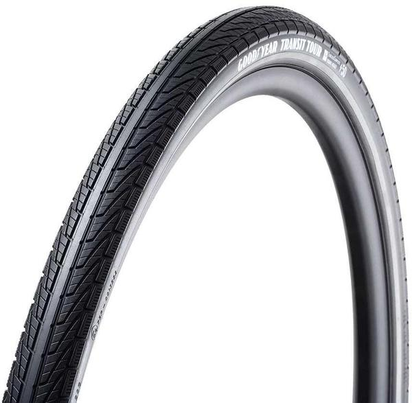 Goodyear Bike Transit Tour 27.5-inch Color | Size: Black | 27.5 x 2.0