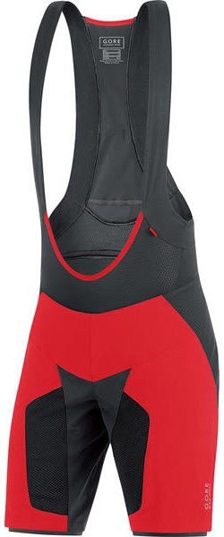 Gore Wear Alp-X Pro 2 in 1 Shorts Color: Red