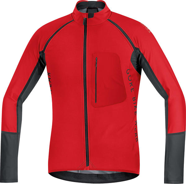 Gore Wear Alp-X Pro Windstopper Soft Shell Zip-Off Jersey