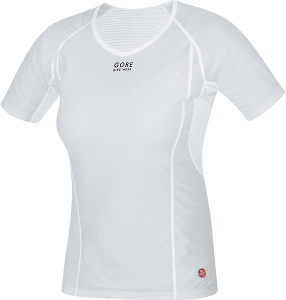 Gore Wear Base Layer Windstopper Lady Shirt Color: Light Gray/White