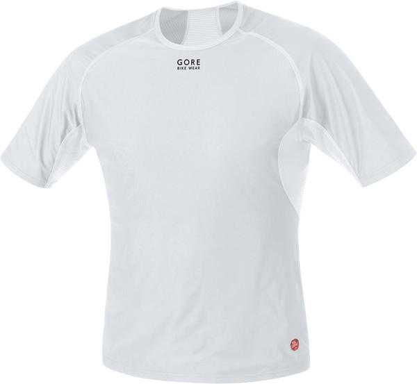 Gore Wear Base Layer Windstopper Shirt Color: Light Gray/White