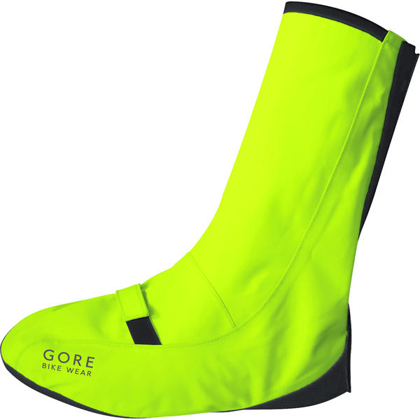 Gore Wear Universal City Neon Gore-Tex Overshoes Color: Neon Yellow