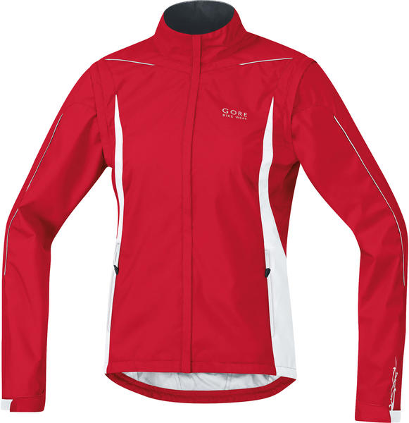 Gore Wear Countdown 2.0 AS ZO Lady Jacket Color: Rich Red/White