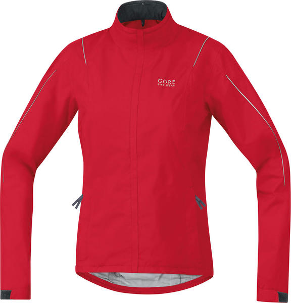 Gore Wear Countdown 2.0 Gore-Tex Lady Jacket Color: Rich Red/Graphite Gray