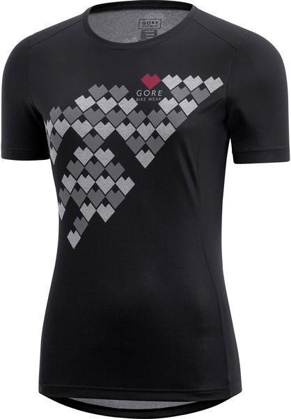 Gore Wear Element Lady Digi Heart Shirt