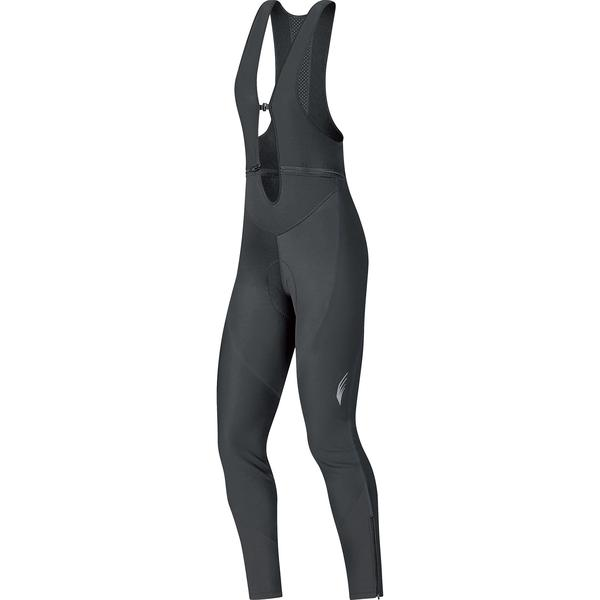 Gore Wear Element Windstopper Soft Shell Lady Bib Tights Short+ Color: Black