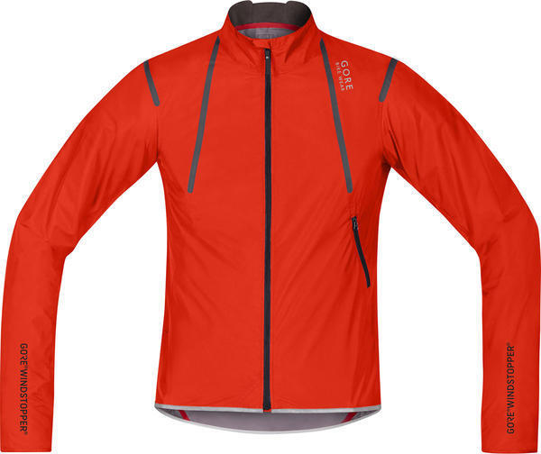 Gore Wear Oxygen WS AS Light Jacket Color: Orange.com